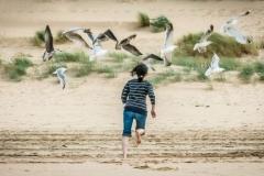 ©Erik Korner - Chasing seagulls