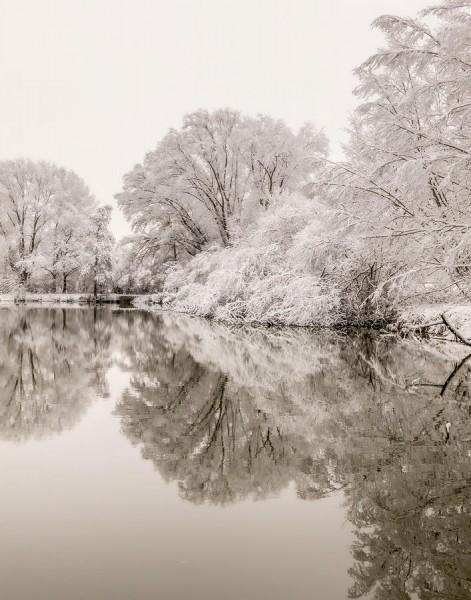 ©Erik Körner 2021-04 [1] - Frosty lake reflections