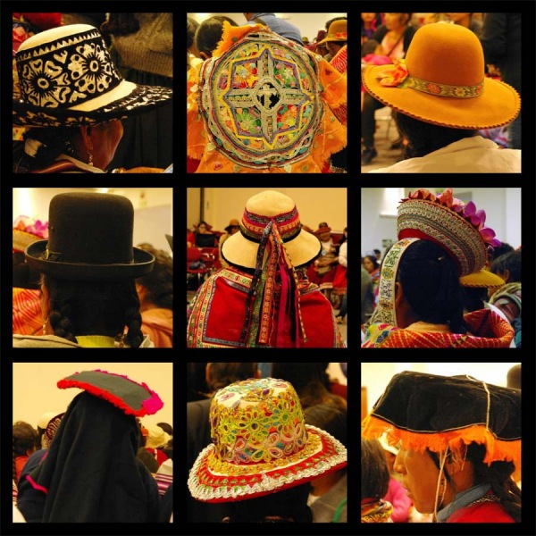 ©Susanne Engelhardt- Hats as a sign of cultural identity, , Southern Peruvian Andes