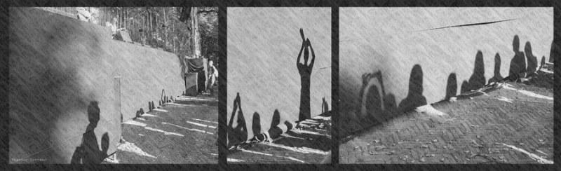 ©Heather Oortman Triptych photographers shadows